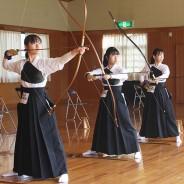 201110弓道-女子松阪プレー