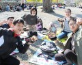 201113松坂城跡に鈴鹿の児童