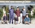 201216米ノ庄小に門松