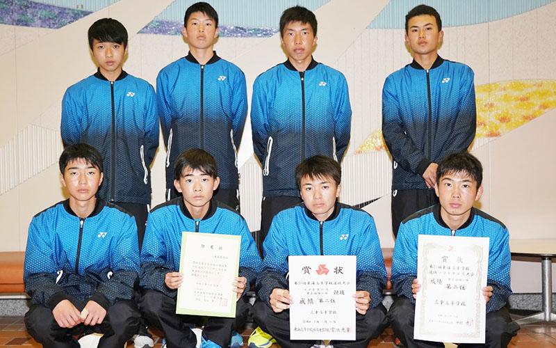 210126東海ソフトテニス_男子団体準優勝