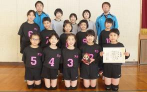 210118小学バレー松阪支部予選2位天白