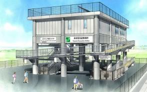 210210松名瀬津波避難タワー完成予想図