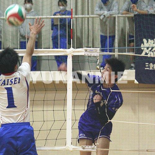 210323高校バレー男子・松阪工プレー