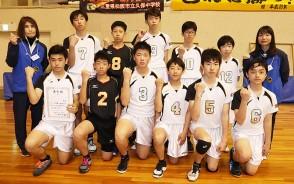 210329中学バレー・男子準優勝・久保