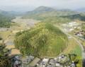 210414空撮の多胡さん、五箇篠山城跡