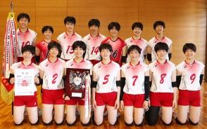 210601高校総体バレー・三重女子‗集合