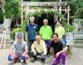 210624竹神社に初の茅の輪