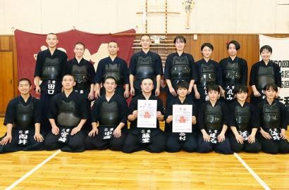 210607県総体剣道・男子優勝、女子3位の三重