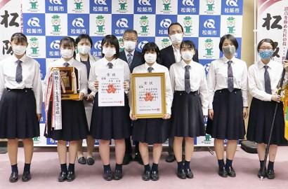 210605三重高女子が弓道で県制す