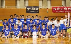 210601高校総体バレー・松阪工男子集合