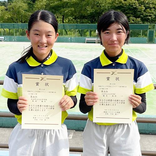 210816大台中女子ソフトテニスで東海5位