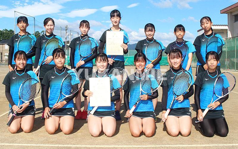 210817松阪高女子ソフトテニス優勝