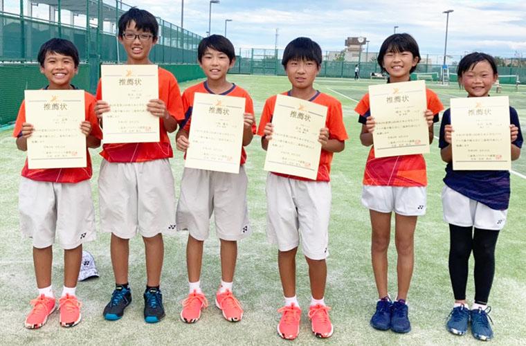 210823軟式テニスMJS入賞